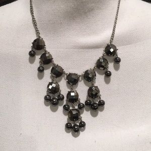 Mercury and Silver Bubble Necklace